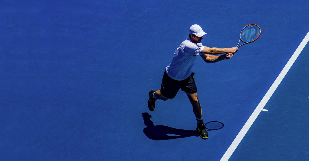 nelinpeli tennis säännöt